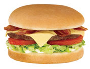 SONIC Bacon Cheeseburger